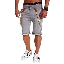 MT Styles - 482 - Bermudas deportivas con tirantes