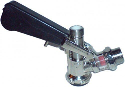 Zapfkopf - Keg Verschluss Korb- Fitting, oberer Ausgang (Kelleranstich)
