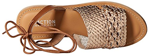 Kenneth Cole Reaction Zoom Out Cuir Sandale gold