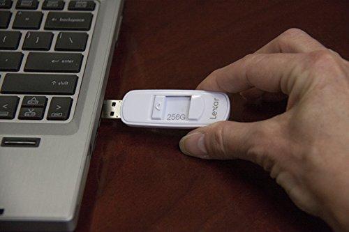 Lexar JumpDrive S75 256GB Memoria Flash USB 3.0 - LJDS75-256ABEU,Bianco