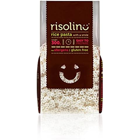 Risolino Pasta a forma di stella di riso organico Senza glutine 300 g (5-pack)