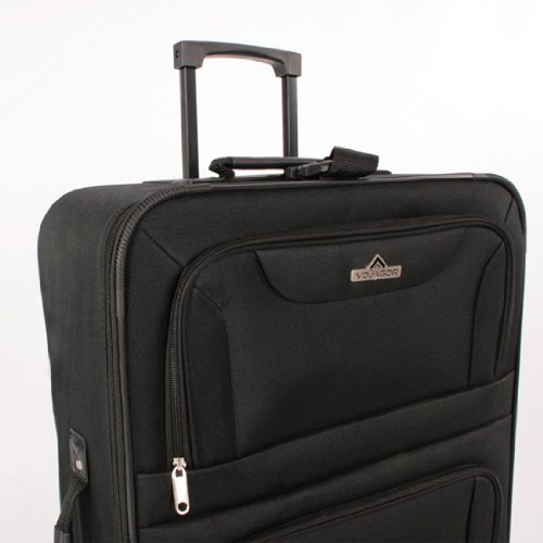 5 tlg. Kofferset Trolley Reisekoffer Koffer ink. Kulturbeutel ineinander Stapelbar - 3
