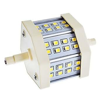 acheter R7S 6W 24x2835SMD 430-440LM 4000-4500K Ampoule Natural White Light LED de maïs (85-265V)
