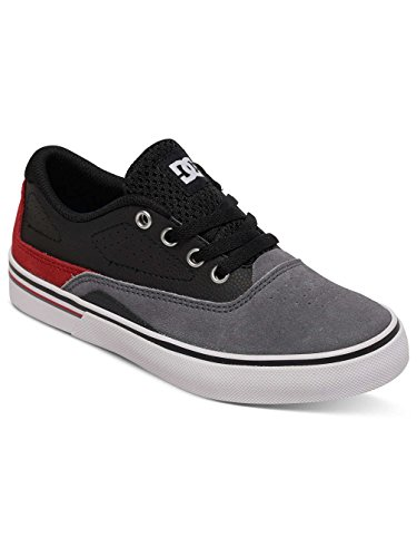 DC Shoes - DC Sultan Boys Shoes - Black grey/black/red