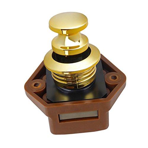 Preisvergleich Produktbild Fenteer 20mm Push Lock Mini Möbelgriff Möbelschloß silber für Marine Boot Wohnwagen