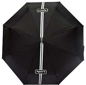 Stag Tri-fold Colour Umbrella (White Printed)