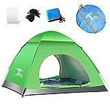 Outdoor Kuppelzelt 2-Mann-Campingzelt - wasserdichtes Rucksackzelt, leichtes Festzelt für den Sommer Campingzelt (Farbe : A)