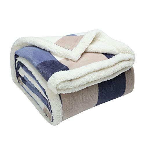 Manta de Forro Polar Supersuave y cálida para sofá, Silla, Picnic, Camping,...
