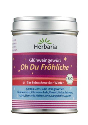 """Herbaria """"Oh Du Fröhliche"""" Bio-Gewürz für Glühwein oder Punsch"""
