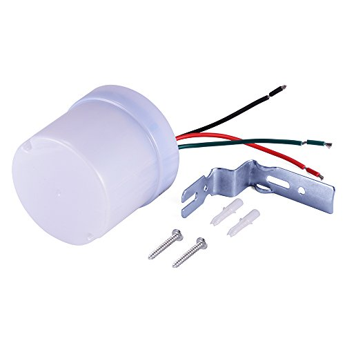 XCSOURCE® Wasserdicht Staubdicht Verstellbare Straßenlaterne Fotozelle Photoswitch Intelligenter Sensor Lichtschalter AC 220V Draussen HS805 (Fotozelle Outdoor-lichter)
