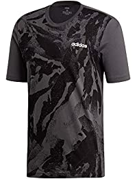 adidas Originals Essentials Allover Printed T-Shirt Herren  anthrazit schwarz, L (52 a6aa756097