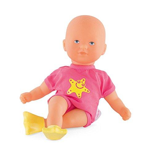 Corolle 9000120050 Mon Petit Poupon Mini Badepuppe, pink, 20 cm