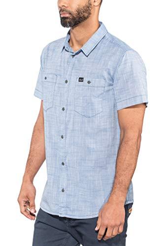Jack Wolfskin Herren Emerald Lake Shirt Hemd, Ocean Wave, L