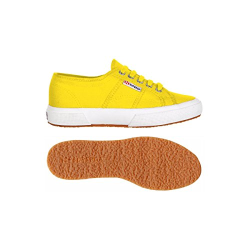 Superga 2750 Cotu Classic, Baskets mixte adulte Multicolore - Jaune tournseol