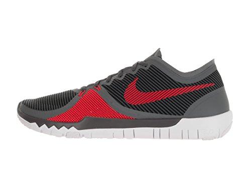 Nike Bambino Free Trainer 3.0 V4 scarpe sportive Drk Grey/Brght Crmsn/Blk/White