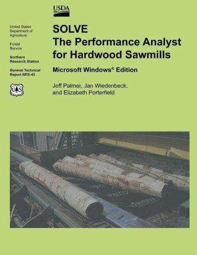 SOLVE The Performance Analyst for Hardwood Sawmills Microsoft Windows Edition