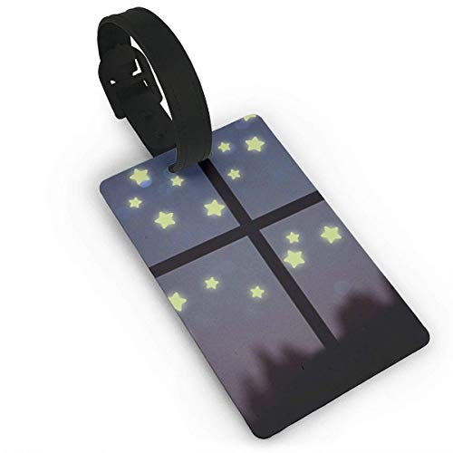Glow in The Dark Luminous Luggage Tags Suitcase Luggage Tags Travel Accessories Baggage Name Tags