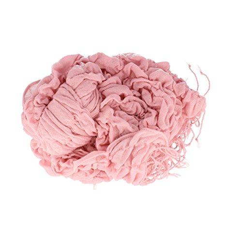 Elegante alla moda da donna sciarpa, foulard tinta unita, da uomo donna unisex, 50x 150cm rosa taglia unica