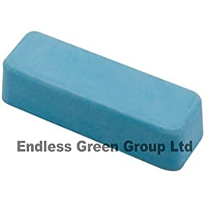 41YwhoqfTNL. SS300  - Bolpol - Blue - Smurf Poo - Metal polishing Abrasive Compound bar - Ideal for Sharpening Stainless Steel & high Carbon…