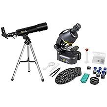 National Geographic Set Telescopio-Microscopio con Soporte para Smartphone