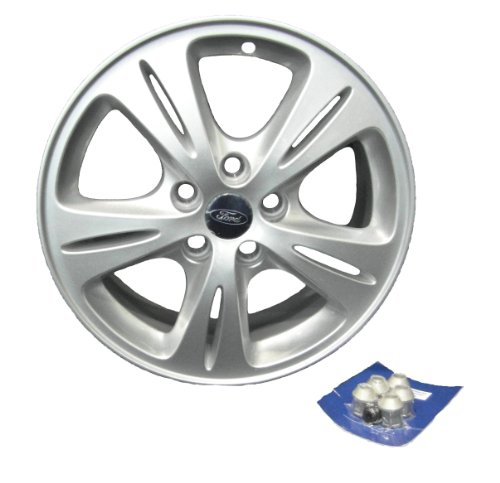 Genuine Ford Parts 1447905 Alufelge, 43 cm (16 Zoll), 5-Speichen-Design für Ford S-Max / Galaxy ab Baujahr 2006 - 1Stück -