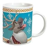 Elsa Frozen Disney Becher Tasse aus Keramik mit Sven Elch Olaf