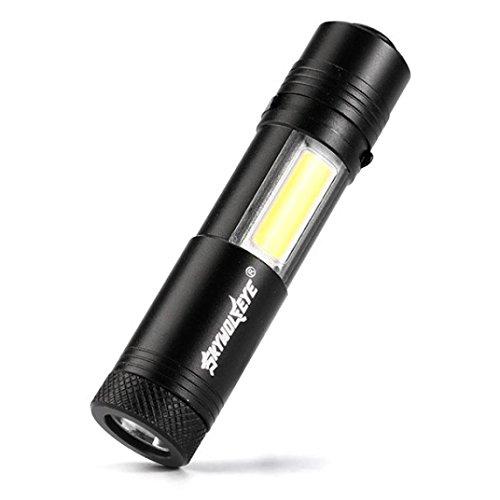 Linterna mini,VENMO Multifunción portátil Cree XPE-R3