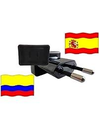 Adaptador de Viaje a España de Colombia ES - CO Enchufe de Viaje España