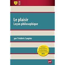 Le plaisir. Premières leçons. Culture générale Prépas HEC 2012-2013