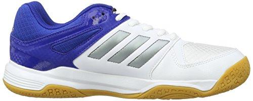 adidas Speedcourt M, Chaussures de Handball Homme Blanc (Schwarz)