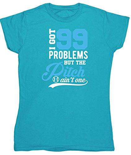 HippoWarehouse Damen T-Shirt X-Large Saphirblau