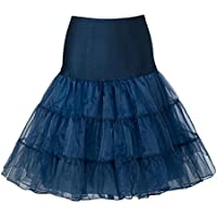 Queenshiny® Retro Underskirt / '50 dell'oscillazione Vintage Petticoat / Rockabilly