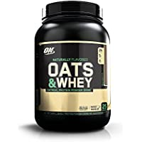 Optimum Nutrition Natural 100% Oats and Whey Powder, 1.36 kg, Chocolate