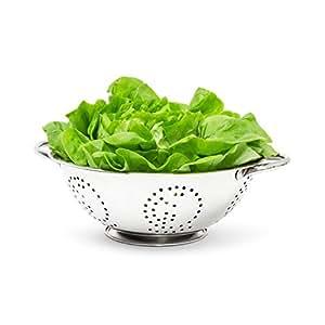 relaxdays passoire tamis gouttoir l gumes salade p tes. Black Bedroom Furniture Sets. Home Design Ideas