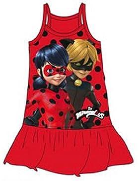 Miraculous Ladybug Mädchen Cocktail Kleid rot rot