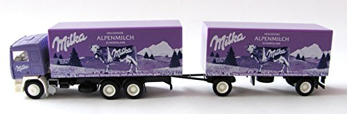Preisvergleich Produktbild Albedo - Milka - Alpenmilch - Volvo F12 - Hängerzug