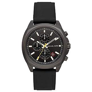 Michael Kors Reloj Cronógrafo para Hombre de Cuarzo con Correa en Silicona MK8649
