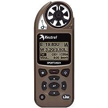 Kestrel Sportsman Weather Meter with Applied Ballistics, Bluetooth LiNK, and Vane Mount, Brown