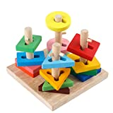 Early Learning Building Blocks Non-toxic Wooden Parent-child Toys Children