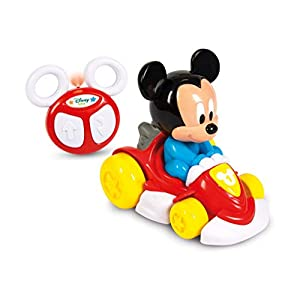 Clementoni 17232 Mickey Radio Control Car-17232, Multicoloured