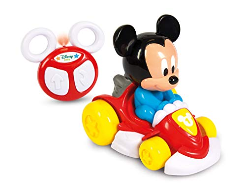 Clementoni 17232 Disney Baby Mickey Mouse Ferngesteuertes Go-Kart