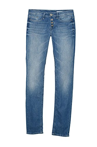 edc by Esprit, Jeans Femme Bleu (Blue Light Wash 903)