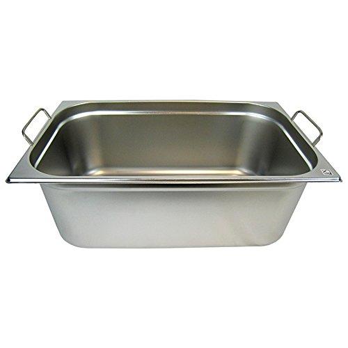 GN 1/1 Gastronormbehälter GN-Behälter Edelstahl 28 Liter Tiefe 200mm MIT FALLGRIFF