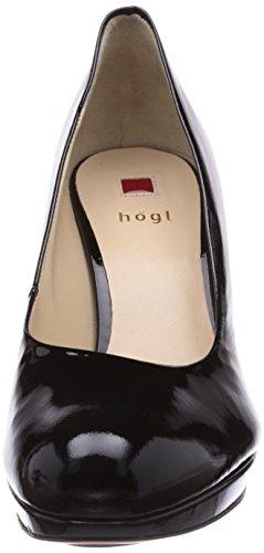 Högl - Scarpe col tacco 9-128004-0100, Donna Nero (Schwarz0100)