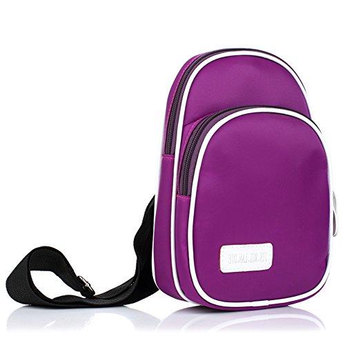 Elegante petto Pack/Versatile borsa a tracolla/Unisex-D D