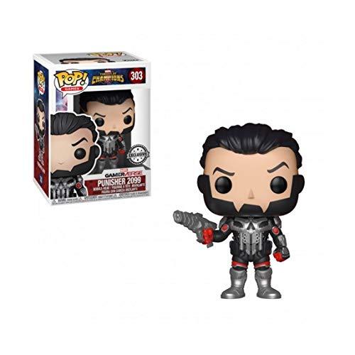 Preisvergleich Produktbild Figur POP MARVEL CONTEST OF CHAMPIONS Punisher 2099 Exclusive