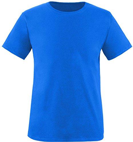 EZYshirt® Herren Rundhals T-Shirt Royal