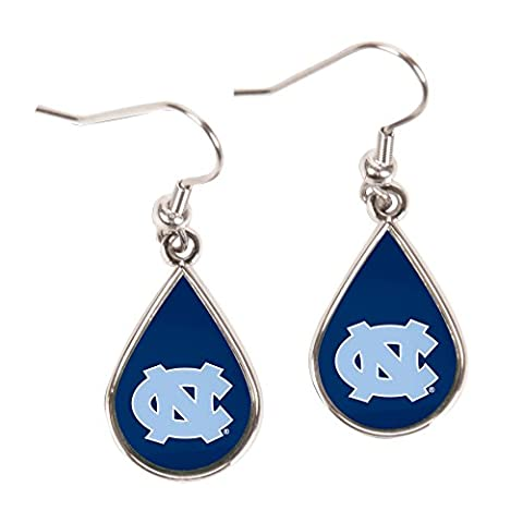 North Carolina Tear Drop Boucles d'oreilles