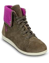crocs Lopro Hi-top Sneaker - Botas de ante para mujer