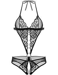 ZEARO Femmes Sexy Pyjama Lingerie En Dentelle Nuisette Robe De Nuit